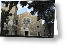 Cathedral Of San Giusto Greeting Card