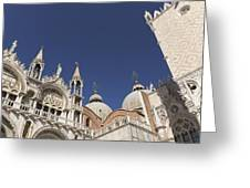 Cathedral Of San Marco  Greeting Card