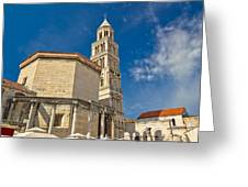 Cathedral Of Split Diocletian Palace Greeting Card