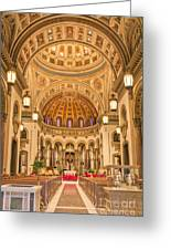 Cathedral Of The Sacred Heart 2 Greeting Card