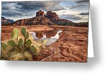 Cathedral Rock After The Storm Greeting Card