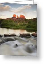 Cathedral Rock At Red Rock Greeting Card