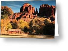 Cathedral Rock Sedona Arizona Greeting Card