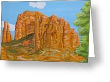 Cathedral Rock Sedona Az Right Greeting Card