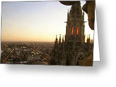 Cathedral Sunset - La Plata Greeting Card