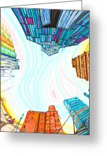 Cathedrals Greeting Card by Scott Kirby