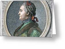 Catherine II Of Russia (1729-1796) Greeting Card