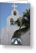 Catholic Church Playa Del Carmen Greeting Card