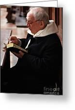 Catholic Priest Greeting Card