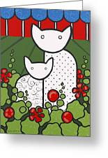 Cats 5 Greeting Card