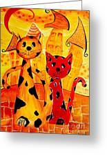 Cats 650 Greeting Card