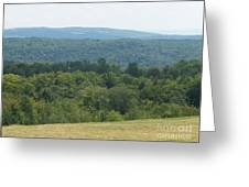 Catskill Rolling Hills Greeting Card by Kevin Croitz