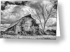 Cattaraugus County Barn 6160b Greeting Card