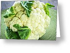Cauliflower Greeting Card