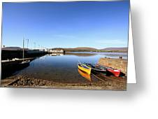 Causeway To Achill Greeting Card