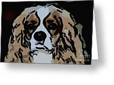 Cavalier Spaniel Greeting Card