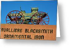 Cavalliere Blacksmith  Greeting Card