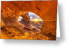 Cave Arch Greeting Card by Dustin  LeFevre