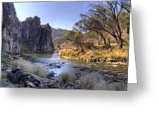 Cave Creek Gorge Greeting Card