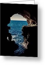 Cave Hole Greeting Card
