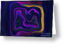 Cave Painter Greeting Card