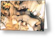Cave Paintings Greeting Card
