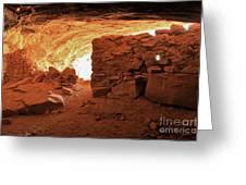 Cave Ruin 2 Greeting Card