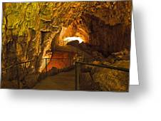 Cavern Aglow Greeting Card