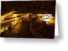 Cavern Path 2 Greeting Card