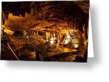 Cavern Path 3 Greeting Card
