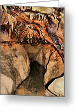 Cavern Path Greeting Card by Dan Sproul