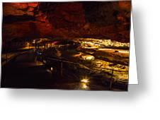 Cavern River Greeting Card