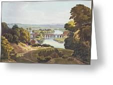Caversham Bridge, Near Reading Greeting Card by William Havell