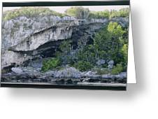 Caves In The Bahamas Greeting Card
