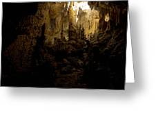 Caves Of Isla Colon Greeting Card