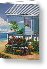 Cayman Porch Greeting Card