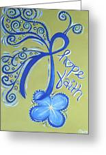 Cc Hope Greeting Card