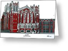Ccny Shepard Hall Greeting Card