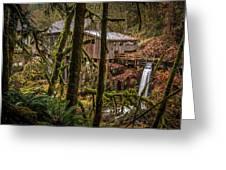 Cedar Creek Grist Mill 2 Greeting Card