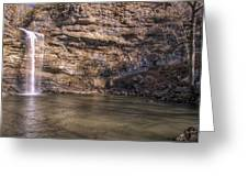 Cedar Falls At Petit Jean State Park - Arkansas Greeting Card
