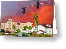 Cedar Fire San Diego 2003 Greeting Card