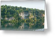 Cedar Hollow Quarry Panorama Greeting Card