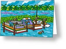 Cedar Key Bayou Greeting Card
