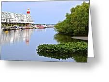 Cedar Point Ohio Greeting Card