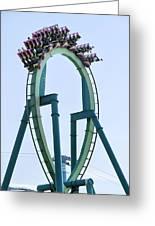 Cedar Point Roller Coaster Greeting Card
