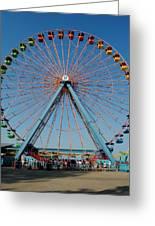 Cedar Point Sunday Greeting Card