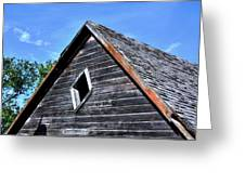 Cedar Shingles Greeting Card