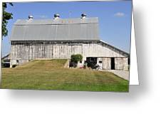 Cedar View Farm Barn Greeting Card