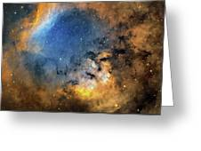 Cederblad 214 Emission Nebula Greeting Card