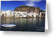 Cefalu - Sicily Greeting Card by Stefano Senise